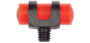 Guidon ajouré lumineux rouge 4x9mm