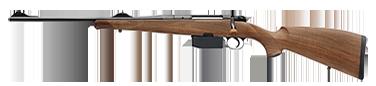 HEYM Carabine à verrou KS1 30.06 55cm noyer dos de cochon à joue gaucher