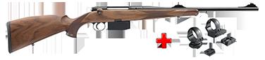 HEYM Carabine SR30 KS1 30.06 55cm + montage pivot diam. 30 MR3019P