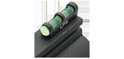 Guidon fibre optique vert