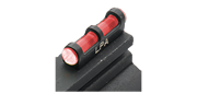 Guidon fibre optique rouge pour fusil dia. filetage 3mm