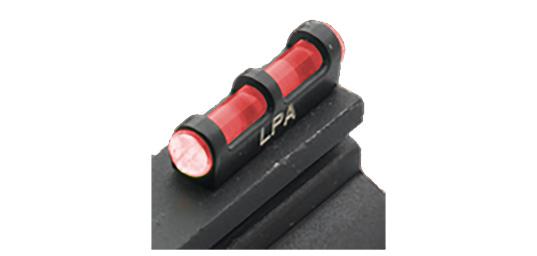 Guidon fibre optique rouge