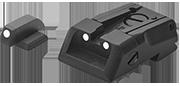 S&W Military et Police Hausse pour pistolet automatique